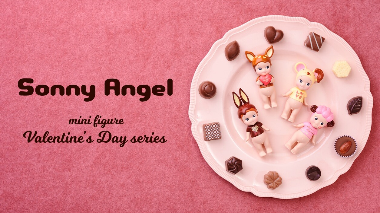 sonny angel mini figure valentine's day